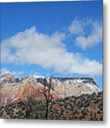 Behold The Blue Sky Metal Print