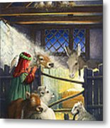 Behold The Child Metal Print by Lynn Bywaters