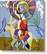 Behold The Lamb Of God Metal Print by Anthony Falbo