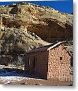 Behunin Cabin Capitol Reef National Park Utah Metal Print