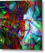 Being Chakra Metal Print