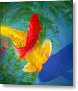Being Koi Too Metal Print