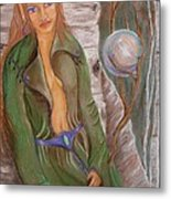 Beithe Metal Print by Carrie Viscome Skinner