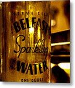 Belfast Sparkling Water Metal Print