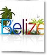 Belize Metal Print