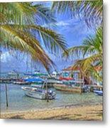 Belize Hdr Metal Print