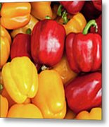 Bell Peppers Metal Print