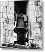 Bell Tower Valbonne Abbey Metal Print by Christine Till