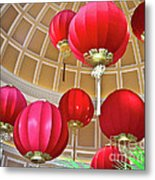 Bellagio Rotunda - Las Vegas Metal Print