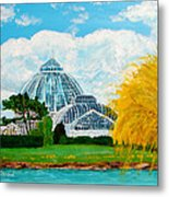 Belle Isle Conservatory Metal Print