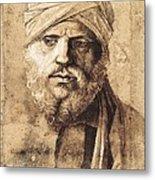Bellini, Giovanni 1430-1516. Man Metal Print