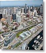 Belltown In Downtown Seattle Metal Print