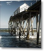 Belmar Beach Metal Print