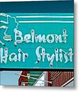Belmont Hair Stylists Metal Print