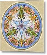 Beloved Mandala Metal Print