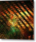 Below Abstract Metal Print