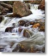 Below Alberta Falls II Metal Print
