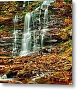 Below Ganoga Falls Metal Print