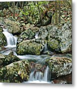 Below Mina Sauk Falls 1 Metal Print