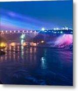 Below Niagara Falls Metal Print
