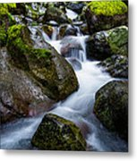 Below Rainier Metal Print by Chad Dutson