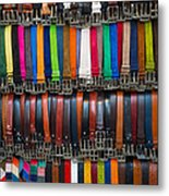 Belts Galore Metal Print