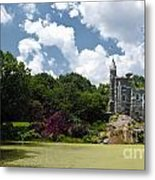 Belvedere Castle Turtle Pond Central Park Metal Print