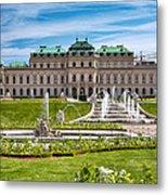 Belvedere Gardens Metal Print by Viacheslav Savitskiy