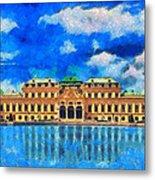 Belvedere Palace Metal Print