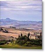 Belvedere Tuscany Metal Print