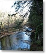 Belvidere Junction Stream Vermont Metal Print