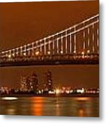 Ben Franklin Bridge Giant Panorama Metal Print
