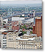 Ben Franklin View Metal Print