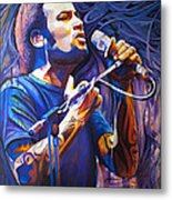 Ben Harper And Mic Metal Print