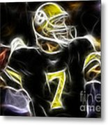 Ben Roethlisberger  - Pittsburg Steelers Metal Print
