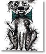 Ben The Dog Metal Print