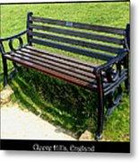 Bench #18 Metal Print