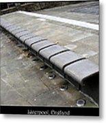 Bench #22 Metal Print