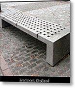 Bench #24 Metal Print