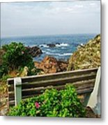 Marginal Way Metal Print by Diane Valliere