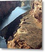 Bend In The Colorado River Metal Print