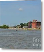 Bend Of The Mississippi River Metal Print