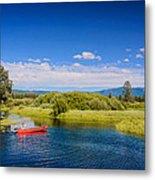 Bend Sunriver Thousand Trails Oregon Metal Print