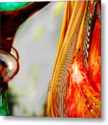 Bending Color #5 Metal Print by Judy Paleologos