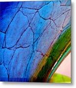 Bending Color 7 Metal Print