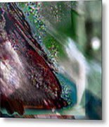 Bending Layered Color 3 Metal Print