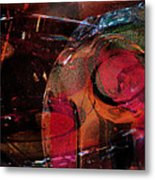 Bending Layered Color Metal Print