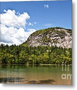 Beneath Cathedral Ledge Metal Print