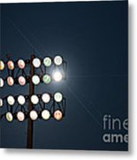 Beneath Friday Night Lights Metal Print by Trish Mistric