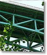 Beneath The Cut River Bridge Metal Print